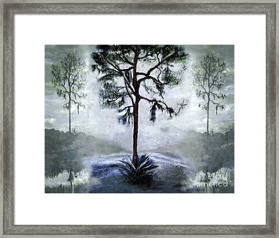 Elegy To A Tree Framed Print