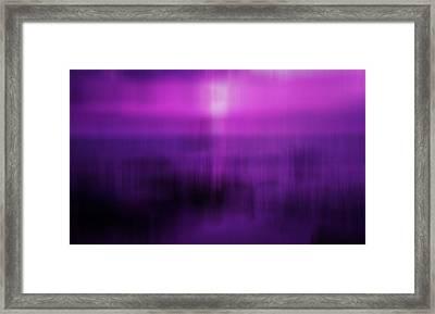 Element Sleep Framed Print