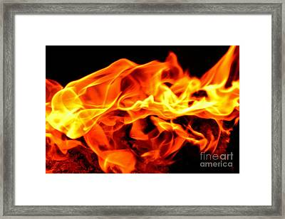 Elemental Dance Framed Print