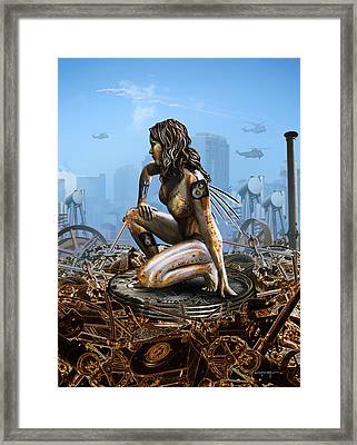 Elements - Metal Framed Print