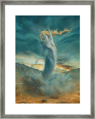 Elements - Wind Framed Print