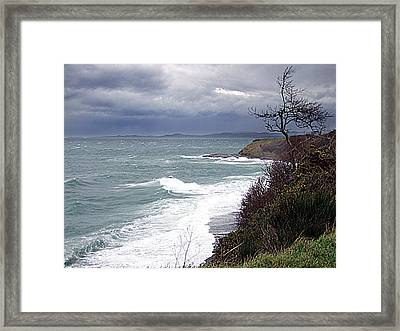 Elements Framed Print by George Cousins