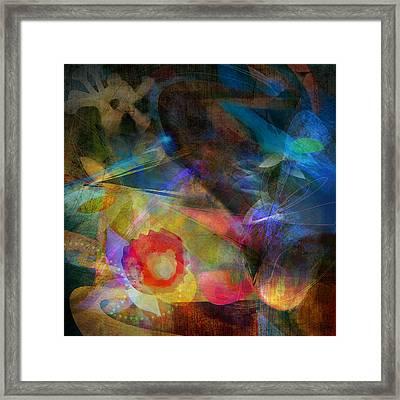 Elements II - Emergence Framed Print