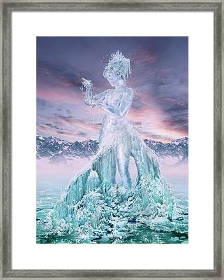 Elements - Water Framed Print by Cassiopeia Art