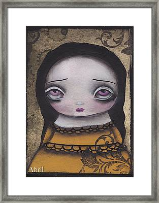 Elenora Framed Print by  Abril Andrade Griffith