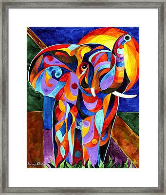 Elephant Dream Framed Print