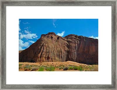 Elephant Butte Framed Print
