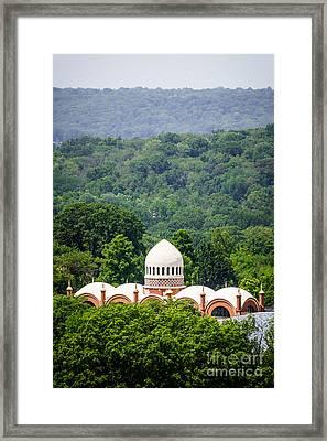 Elephant House At Cincinnati Zoo And Botanical Garden Framed Print by Paul Velgos