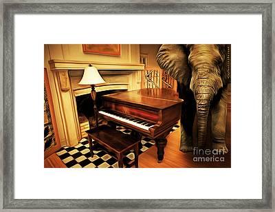Elephant In The Room 20141225 Framed Print