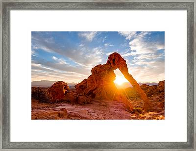 Elephant Rock Framed Print