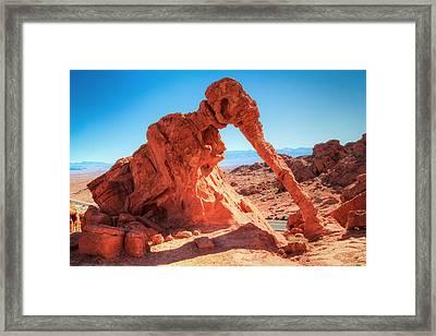 Elephant Rock Framed Print by Laura Palmer