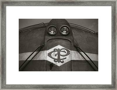 Framed Print featuring the photograph Eletric Locomotive by Amarildo Correa