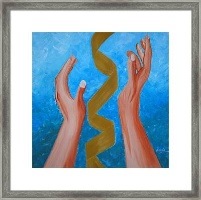 Elevate Framed Print