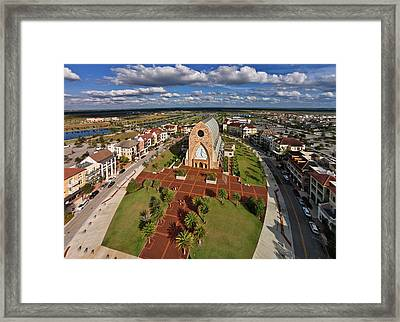 Elevated View Of Ave Maria Oratory Framed Print