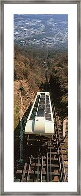 Elevated View Of Lookout Mountain Framed Print by Panoramic Images