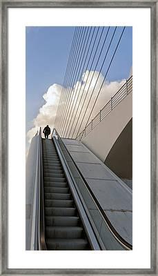 Elevator Framed Print