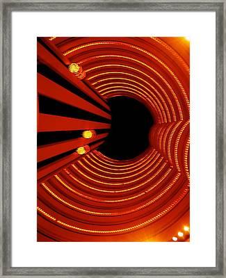 Elevator Framed Print by Art Spectrum