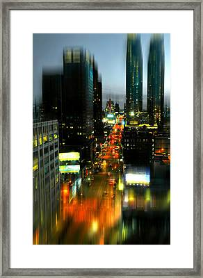 Eleventh Avenue Framed Print by Diana Angstadt