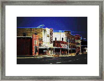 Elgin Old Town Street Framed Print