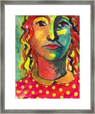 Elia Framed Print