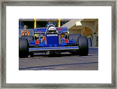 Elio At Long Beach 1981 Framed Print