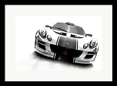 Lotus Sportscar Framed Prints