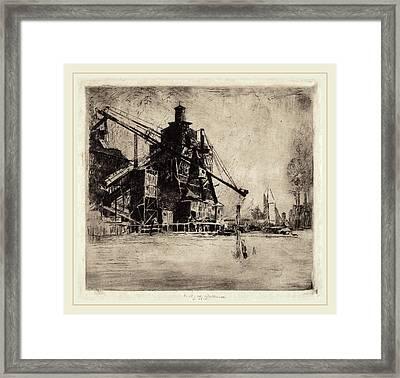 Elisha Kent Kane Wetherill, Otto Coke And Coal Hoist Framed Print by Litz Collection