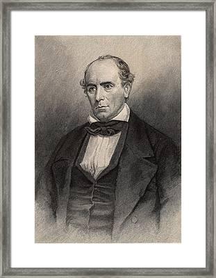 Elisha Mitchell American Naturalist Framed Print