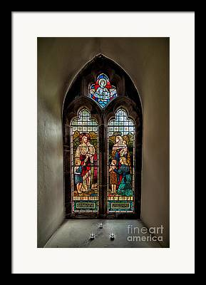Stained Glass 3 Framed Prints