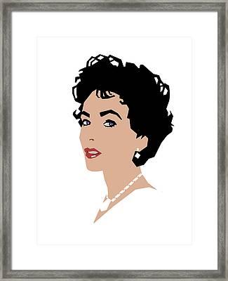 Elizabeth Framed Print by Douglas Simonson