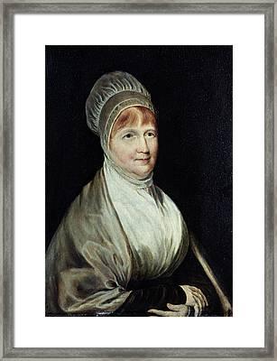 Elizabeth Fry (1780-1845) Framed Print by Granger