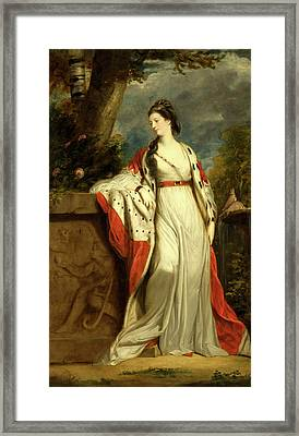 Elizabeth Gunning, Duchess Of Hamilton And Argyll Framed Print by Litz Collection