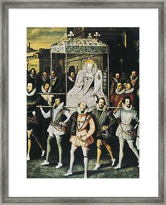 Elizabeth I Of England, Called Framed Print by Everett