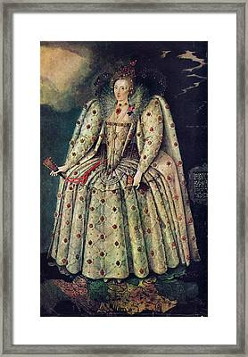 Elizabeth I Framed Print by Print Collection, Miriam And Ira D. Wallach Division Of Art, Prints And Photographs /new York Public Library