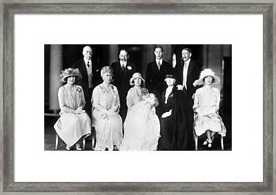 Elizabeth II (1926- ) Framed Print