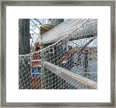 Elizabeth II Replica 9 Framed Print by Cathy Lindsey