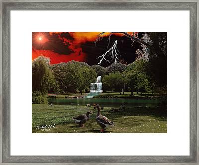 Elizabeth Park Framed Print by Michael Rucker