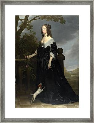 Elizabeth Stuart. Queen Of Bohemia Framed Print