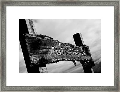 Elizabethtown Framed Print by Off The Beaten Path Photography - Andrew Alexander