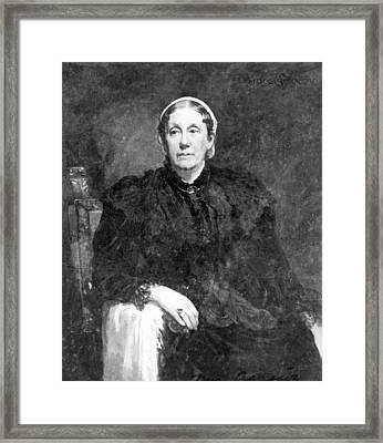 Elizabteh Cary Agassiz (1822-1907) Framed Print