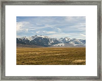 Elk Country Framed Print by James Dudman