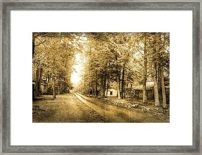 Elkmont Ghost Town Framed Print by Michael Eingle