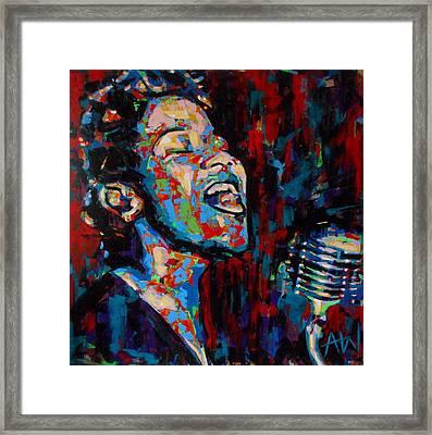 Ella Fitzgerald Framed Print