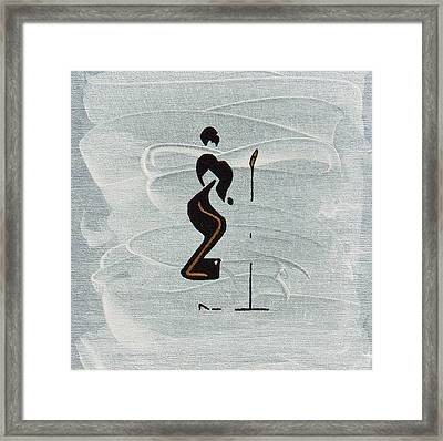 Ella Framed Print by Michael Tokarski