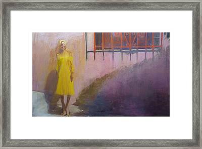 Elle Framed Print by Galya Tarmu
