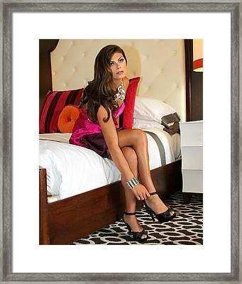 Raquel Palm Springs Framed Print by William Dey