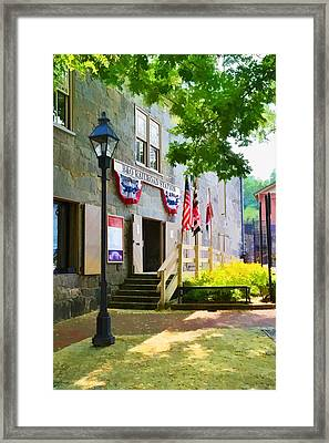 Ellicott City Station Framed Print