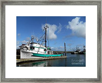 Ellie J 2 Framed Print by Chalet Roome-Rigdon