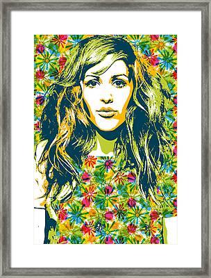 Elliegoulding 2 Framed Print by Irina Effa
