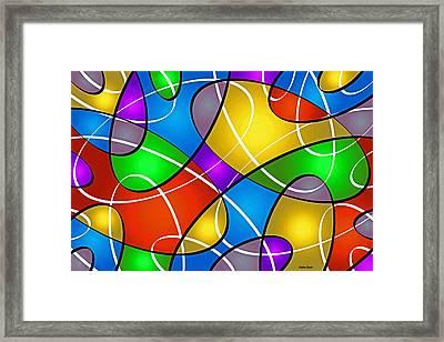 Elliptical Framed Print by Stephen Younts